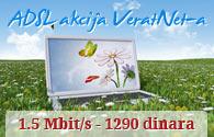 Brzi internet za samo 1290 dinara mesečno