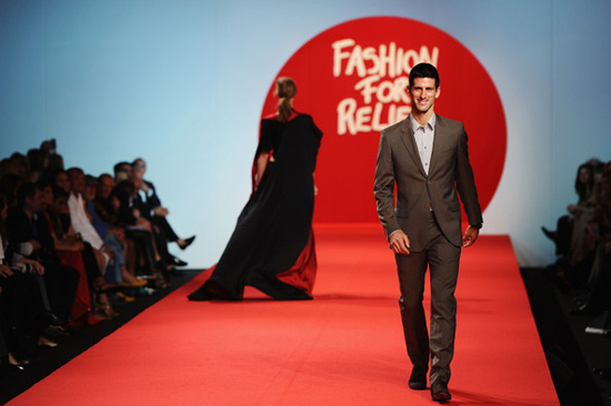 Novak Đoković  - Fashion for relief 6